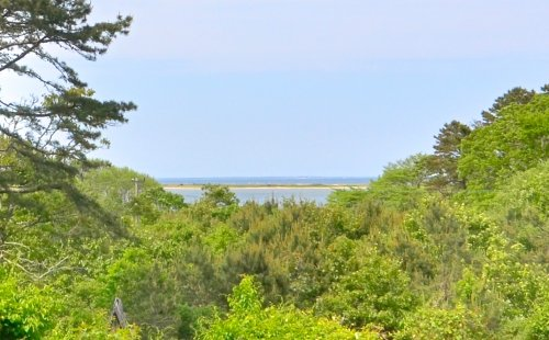 BUILDABLE LOT WITH VIEWS OVER SENGEKONTACKET TO NANTUCKET SOUND